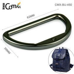 Hoher Grad-D-Klipp mit Firmenzeichen-Metallring für Beutel, Metallring der Berufsentwurfs-umweltfreundlicher schwarzer Farben-62mm D