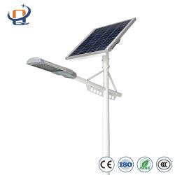 Illuminazione solare esterna impermeabile della via/strada/giardino del LED con la batteria di litio e del comitato