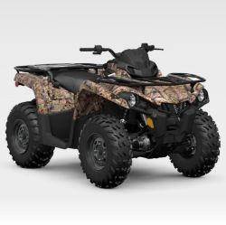 Outlander Dps 450/570 4X4 Quad ATV