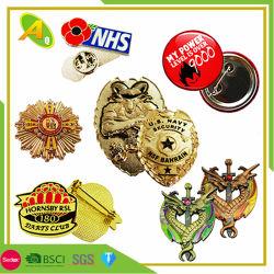 Preiswertes kundenspezifisches Form-Zeichen-Förderung-weiches Fabrik-Großverkauf-Förderung-Geschenk-kundenspezifisches Metallfertigkeit-Metallabzeichen