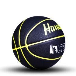 농구 까만 게임 볼 옥외와 실내 관리 Size7 농구
