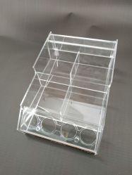 Boîte d'affichage en plastique transparent de cosmétique pour coffret en Carton rouge à lèvres