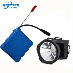 مصدر إمداد الشركة المصنعة مصباح صيد السمك بطارية ليثيوم 7.4 فولت 4400مللي أمبير/ساعة ضوء الغمر بطارية إضاءة متنقلة