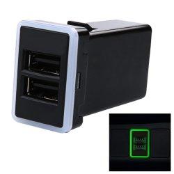 Smart 3.1A de carga rápida toma de corriente cargador USB Dual
