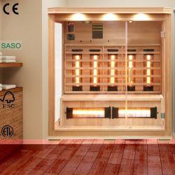 4 personne salle de sauna infrarouge de l'appareil plus chaudes de Nice pour un usage familial, bain à sec de thérapie chaud Sauna Dome que la santé de la machine minceur