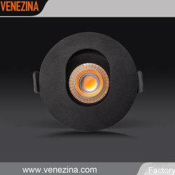 Indicatore luminoso di alluminio del riflettore del soffitto della PANNOCCHIA LED di alto potere IP44 giù
