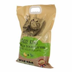 群生および臭気制御豆腐のキャットリター