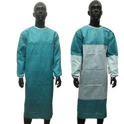 Больница в защитной одежде ультразвуковая сварка стерильных медицинских одноразовые хирургические платье