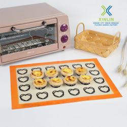 2019 tapis de silicone de gros de tapis de cuisson en silicone Non-Stick Pad
