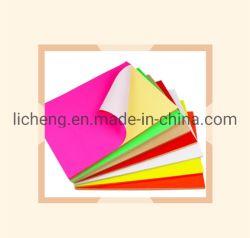 Una etiqueta autoadhesiva colorido4 Matte Paper Label Laser inyección de tinta Papel Artesanal de bricolaje