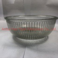 Großes Glass Bowl Serves als Container für Fruit Salad