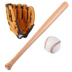 Durable Baseball Bag Fledermaus Handschuh und Ball enthält OEM begrüßt 25 Zoll Buche Bat Hohe Qualität