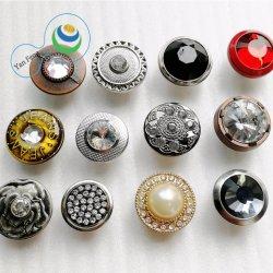 Résine de plastique/ABS//Métal/Jeans en alliage de la queue de fixation Snap Rivet à coudre le bouton de chemise pour la décoration du vêtement