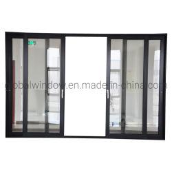 Вход из алюминиевого сплава закаленного стекла боковой сдвижной двери на вилле/дома/квартиры/здание