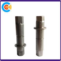 DIN/ANSI/BS/JIS Carbon-Steel/Stainless-Steel Conjuntos de cobre hexagonal do eixo de cobre peças de automóveis