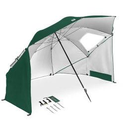 パラソルの日曜日の保護の屋外の傘浜のテント