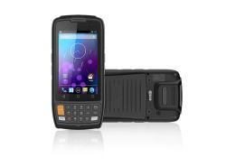 4 Pulgadas Android recopilador de datos móvil resistente terminal de mano Escáner 2D 1d