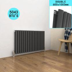 [سلّي] [600إكس1073مّ] أفقيّة [متّ] سوداء [لوو كربون ستيل] غرفة نوم مشعّ ساخن مع عميد مزدوجة لأنّ بينيّة/غرفة حمّام/غرفة نوم/مطبخ/يعيش غرفة