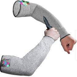 Résistant aux coupures manchons Protectiors de bras pour la peau mince et d'ecchymoses,les manchons de protection de bras de la protection de niveau 5/ Le bras de protection de gardes, plus léger que le Kevlar manchons,