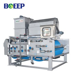 Tratamento de Água Industrial Correia Horizontal a operação do filtro de tambor rotativo espessante a máquina