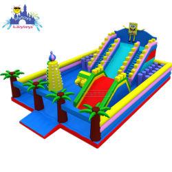 Cartoon grand terrain de jeu Amusement Park gonflable populaire Fun City