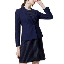 Traje tejido empresarial femenino personalizables diseño profesional puede exportar traje de mujer