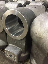 Bearbeitete Stabenden von Schmiedeteilen für das Schweißen von Hydraulikzylindern