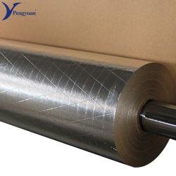 Feuille en aluminium renforcé Scrim de papier kraft de matériaux isolants