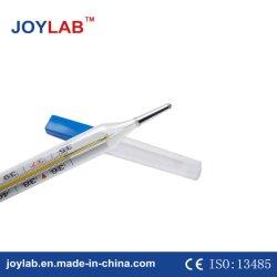 Vidro de mercúrio médica/retal axila/termômetro oral