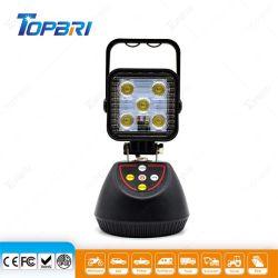 15W rechargeable portable LED Epistar magnétique phare de travail de recherche