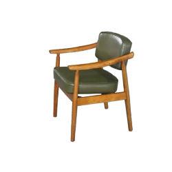 Clássico estilo irlandês Lazer confortável cadeira de Jantar Leitura Casual Sofá