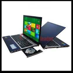 "Pantalla LED HD de 15,6""Procesador Intel Core i7 CPU de 4GB/500GB DVD-RW Windows portátil con almacenamiento Doual HDD/SSD (P156I)"