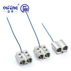 Connexion de borne des fils électriques Compteur Individuel La borne