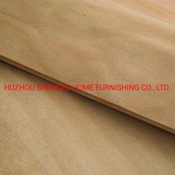 Placage de bois de placage de chêne pour le contreplaqué de peuplier naturel de bois composite