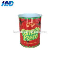 Venta al por mayor fabricantes Sellfood 7100# Grado Abre fácil vacío estaño para 400g pasta de tomate puede