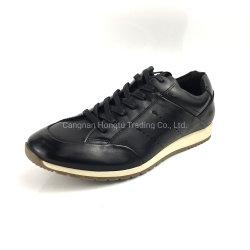 Настроить логотип кроссовки мужчин Sport повседневная обувь из натуральной кожи