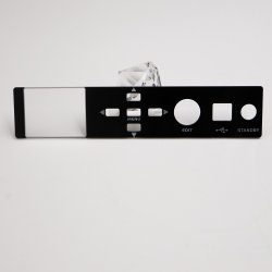 Custom высокое качество прозрачные пластиковые окна передней панели