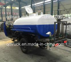Waschendes Dreirad der Straße 2 Tonnen Dreiradwasser-Tanker