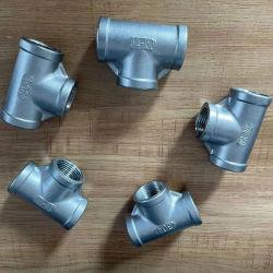 201/304/316 Edelstahl-Draht im 3-Wege-Gewinde direkt zu Das Weibliche Haushalts-Sanitär Rohrverschraubung Zubehör Industrie Tee