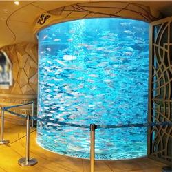 Circular grande Pecera acrílica para acuarios