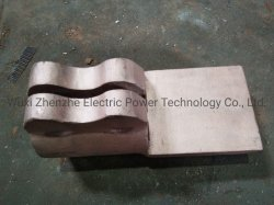 Cobre/Fundição de latão, cobre o conector/juntas/Elevadores eléctricos de hardwares/componentes/Usina feitas pela fundição de cobre