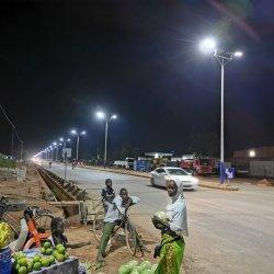 60W 70W 80W 100W 120W LED integrierte alle in eine im Freien Solarstraßenlaterne