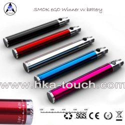 Meilleur EGO Twist Smoktech dernière entrée de la batterie de haute qualité Cool Design EGO Dévidoir VV Vs Spinner de vision de la batterie