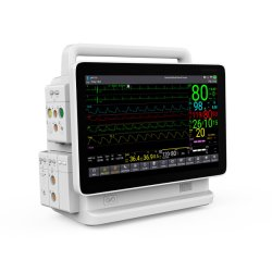 Contec Hospital ICU Medical prise moniteur modulaire dans le Moniteur Patient