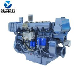 Diesel-Marine-Motormotor der Serie X6170 von Weichai 300-397 Kw 408-540 PS
