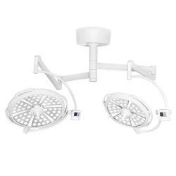 LED Lámpara quirúrgica Lámpara quirúrgica ultraligero móvil optimizada la iluminación del teatro de la cabeza cerrada