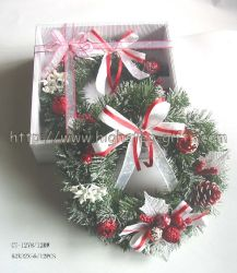 """크리스마스 화환 (8""""-36"""")"""