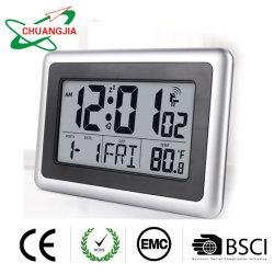 Auto ajuste Alarma Digital con el tiempo de la fecha la visualización de temperatura
