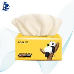 Soem-Fabrik-Bambusmasse 2/3 Falte-Abschminktuch-Papier für tägliches Gebrauch-Haushalts-Papier