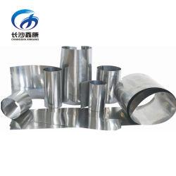 Gr1 Gr2 Gr5 de 0,1 mm de la lámina de titanio El titanio tira